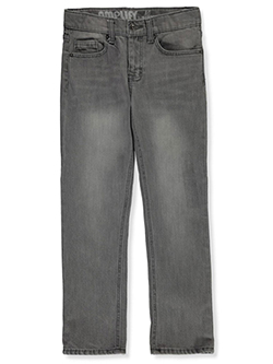 Boys' Slim Straight Jeans by Amplify in Gray, Sizes 8-20
