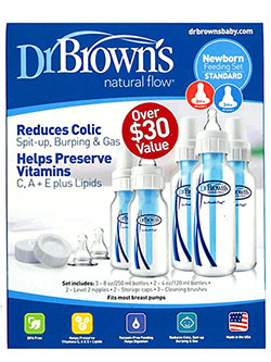 Dr. Brown's Natural Flow Bottles 5-Pack Set - CookiesKids.com