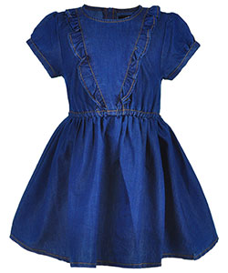 Dollhouse Little Girls' Toddler Dress (Sizes 2T – 4T) - CookiesKids.com