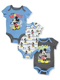 7b436fef3f1 Mickey Mouse Baby Boys' 4-Pack Bandana Bibs by Disney in Red/multi ...