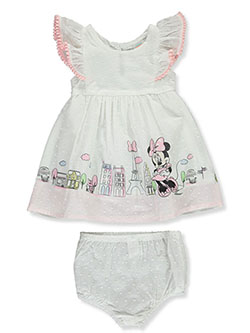 Minnie Mouse Paris 2-Piece Dress Set Outfit by Disney Minnie Mouse in Multi, Infants