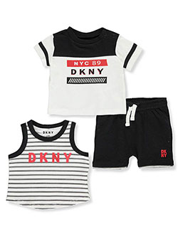 f39b2e8316a Baby Boys  3-Piece Shorts Set Outfit from Cookie s Kids