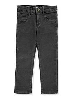 Boys' Stretch Skinny Jeans by DKNY in black, blue, cancun sea and medium navy