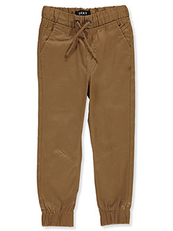 Boys' Twill Joggers by DKNY in Khaki
