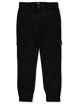 Boys' Cargo Joggers by DKNY in black and olive