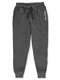 Boys' Joggers by DKNY in black, olive and white heather, Boys Fashion