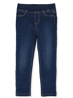 Girls' Pull-On Jeggings by DKNY in Endless sky, Girls Fashion