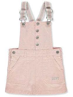 Girls' Cargo Skirtalls by DKNY in Blush, Girls Fashion