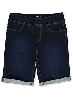 Girls' Short Jeggings by DKNY in laguna and partridge, Girls Fashion
