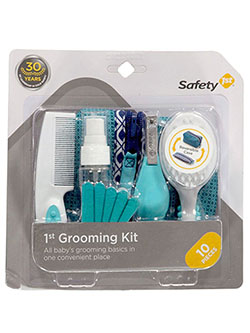 10-Piece Baby Grooming Kit by Safety 1st in Turquoise