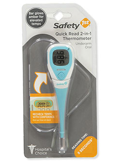 Quick Read 2-in-1 Thermometer by Safety 1st in Pink