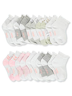 Baby Girls' 10-Pack Socks by Kensie Girl in White