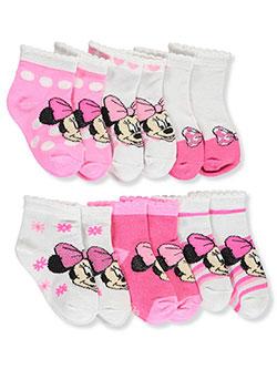 TSG Baby Girls 6-Pack Socks