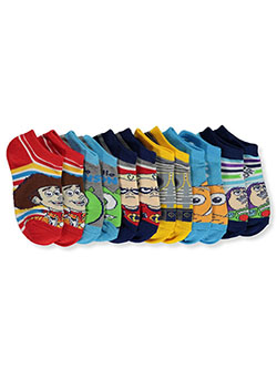Pixar Boys' 6-Pack Socks by Disney in Navy
