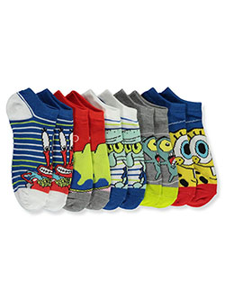 SpongeBob SquarePants 5-Pack Low-Cut Socks by Nickelodeon in Blue