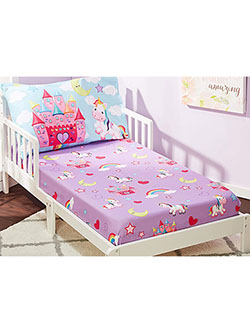 Toddler Sheet & Pillowcase Set by Everyday Kids in Multi, Infants