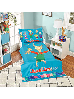 4-Piece Toddler Bedding Set by Llama Llama in Multi