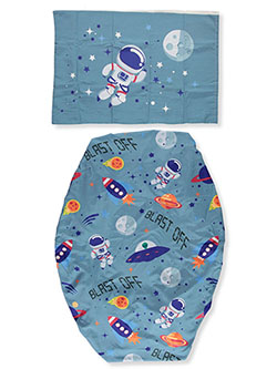 Outer Space 2-Piece Toddler Sheet Set by Everyday Kids in Multi