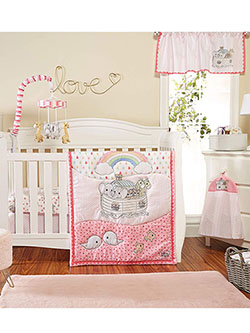 4-Piece Crib Set by Precious Moments in Multi