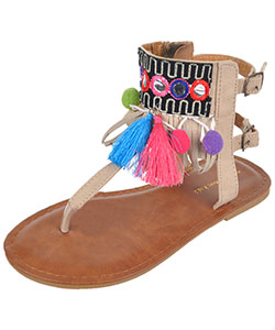"Eddie Marc Girls' ""Mercado"" Sandals (Toddler Sizes 11 – 12) - CookiesKids.com"