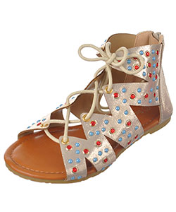 "Eddie Marc Girls' ""Gemmy"" Sandals (Toddler Sizes 11 – 12) - CookiesKids.com"