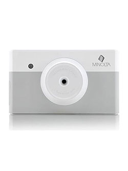 Instapix Instant Print Digital Camera in Gray by Minolta in Gray