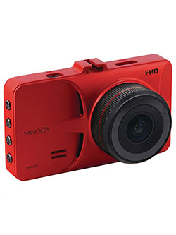 "1080P 12 Mega Pixels Car Camcorder W/3 in0"" Lcd And G-Sensor in Red by Minolta in Red"