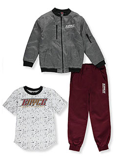 Boys' Drip Dots 3-Piece Joggers Set Outfit by Enyce in Multi