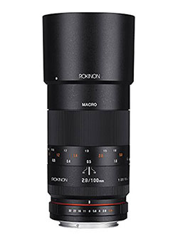 100mm F2.8 ED UMC Full Frame Telephoto Macro Lens for Canon EF Digital SLR Cameras by Rokinon, Toys