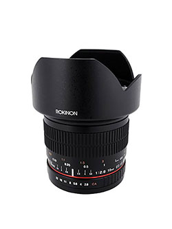 10mm F2.8 ED AS NCS CS Ultra Wide Angle Lens Canon EF-S Type for Canon Digital SLR Cameras by Rokinon