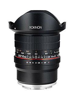 12mm F2.8 Ultra Wide Fisheye Lens for Sony E Mount Interchangeable Lens Cameras by Rokinon