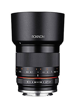35mm F1.2 High Speed Wide Angle Lens for Canon EOS M Mount by Rokinon