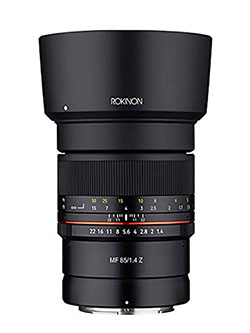 85mm F1.4 Weather Sealed High Speed Telepoto Lens for Nikon Z Mirrorless Cameras by Rokinon, Toys