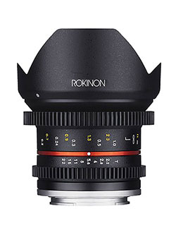 Cine CV12M-E 12mm T2.2 Cine Fixed Lens for Sony E-Mount and Other Cameras by Rokinon, Toys