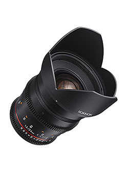 Cine DS DS24M-C 24mm T1.5 ED AS IF UMC Full Frame Cine Wide Angle Lens for Canon EF by Rokinon