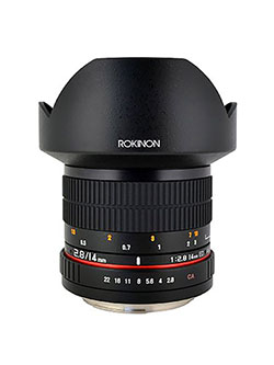 FE14M-P 14mm F2.8 Ultra Wide Fixed Lens for Pentax by Rokinon