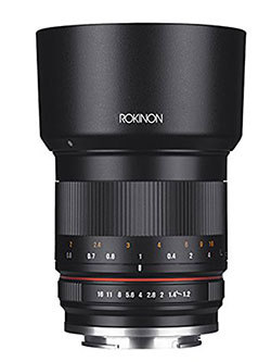 RK50M-E 50mm F1.2 AS UMC High Speed Lens for Sony by Rokinon