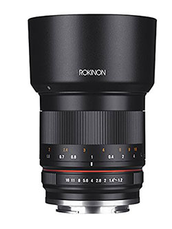 RK50M-FX 50mm F1.2 AS UMC High Speed Lens Lens for Fuji by Rokinon