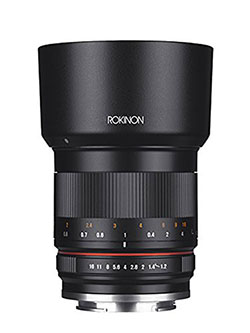 RK50M-M 50mm F1.2 AS UMC High Speed Lens for Canon by Rokinon