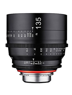 Xeen 135mm T2.2 Professional Cine Lens for Nikon Mount by Rokinon