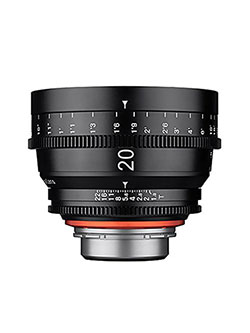 Xeen 20mm T1.9 Wide Angle Pro Cine Lens for Sony E-Mount Interchangeable Lens Cameras by Rokinon