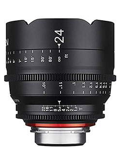 Xeen XN24-C 24mm T1.5 Professional CINE Lens for Canon EF by Rokinon