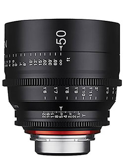 Xeen XN50-C 50mm T1.5 Professional Cine Lens for Canon EF by Rokinon