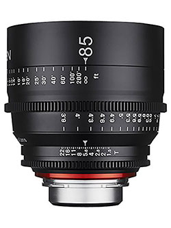 Xeen XN85-MFT 85mm T1.5 Professional CINE Lens for Micro Four Thirds Mount by Rokinon
