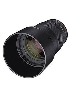 135mm f/2.0 ED UMC Telephoto Lens for Fuji X Mount Interchangeable Lens Cameras by Samyang