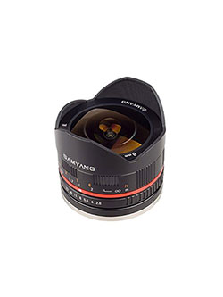 8mm F2.8 UMC Fisheye II by Samyang