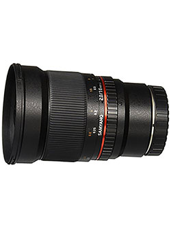 SY16M-M 16mm f/2.0 Aspherical Wide Angle Lens for Canon M by Samyang