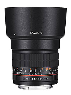 SY85M-C 85mm F1.4 Fixed Lens for Canon by Samyang, Toys