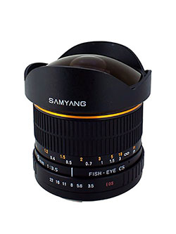 SY8M-C 8mm f3.5 Lens for Canon by Samyang, Toys