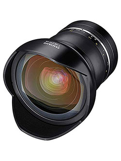 SYXP14-C XP 14mm f/2.4 High Speed Wide Angle Lens for Canon EF with Built-in AE Chip, Black by Samyang, Toys